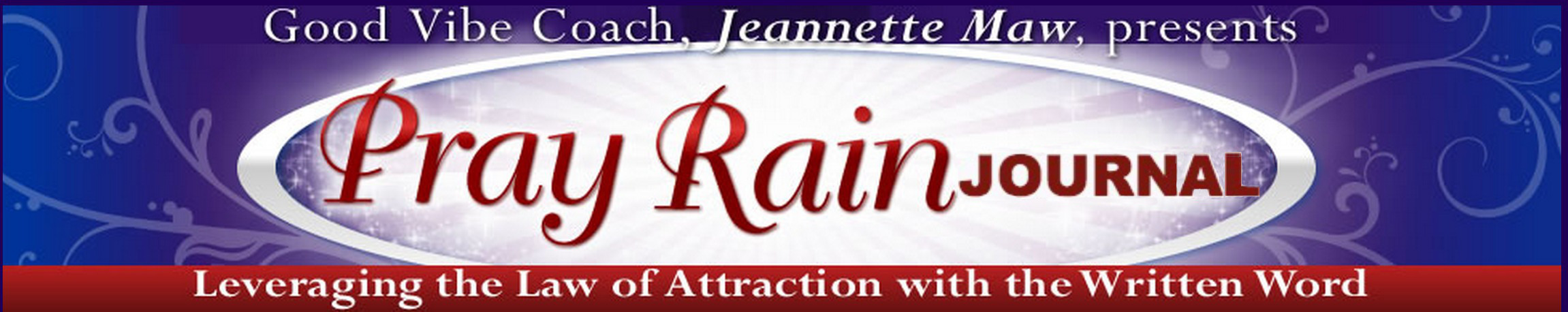 The magic of pray rain journaling by good vibe coach jeannette maw fandeluxe Choice Image